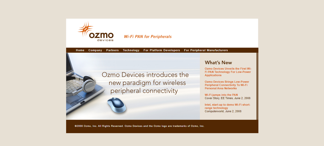 Ozmo Devices